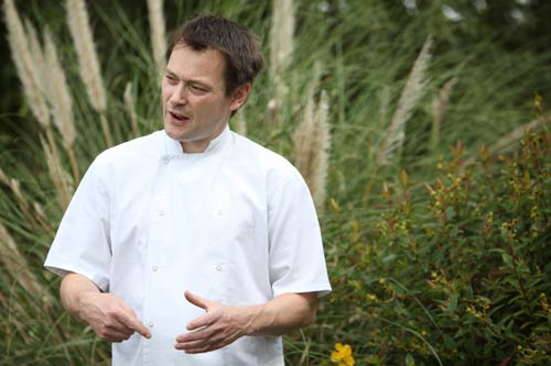 Bruce Havard Head Chef Berries Restaurant Herefordshire