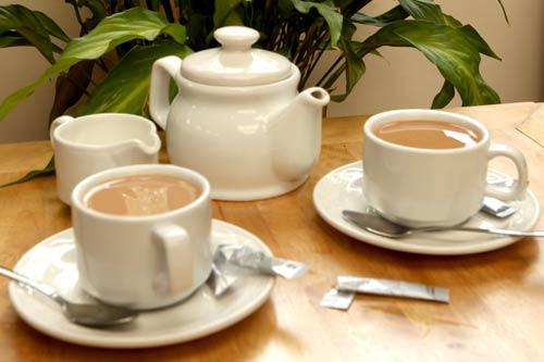 Berries Restaurant Breakfast Tea